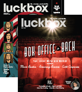 luckbox magazine covers